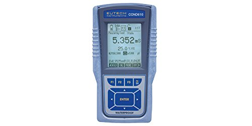 Eutech CyberScan COND 610 Meter, Water Quality Monitoring - ECCONWP61043K by Eutech Instruments