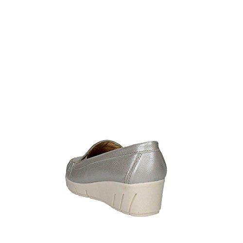 Cinzia Soft PEQ 30400 003 Moccasin Women Silver NPqlyrx