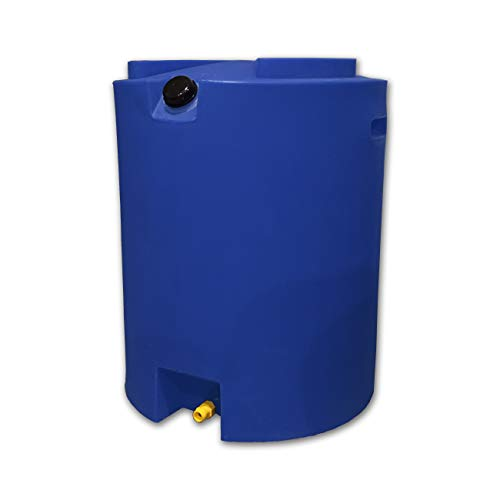 Smart Tank 50 Gallon Stackable Water Storage Tank - BPA Free - Made in the - Tank Holding Pump