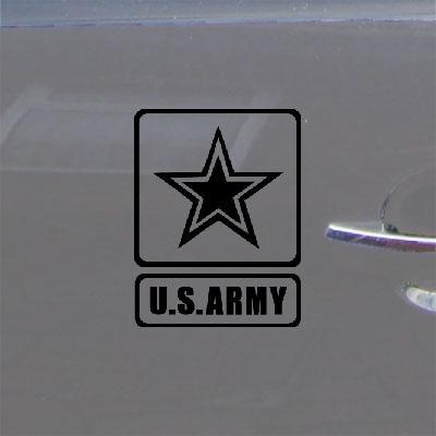 Black Us Army Car Vinyl Bike Auto Wall Art Adhesive Vinyl Military Die Cut Helmet Decoration Laptop Car Window Decal Sticker Notebook