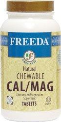 Freeda Kosher Chewable - Freeda Kosher Chewable Cal/Mag - 250 CHW by Freeda