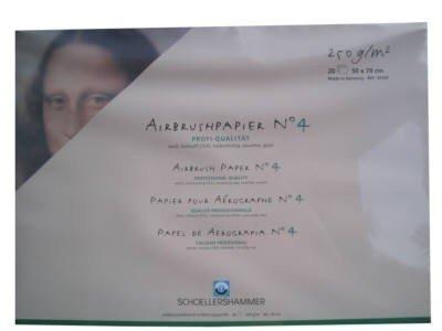 Schoellershammer Airbrush-Papier 50x70cm 30123
