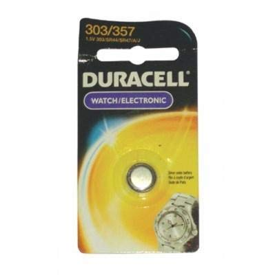 (Duracell D303/357 Silver Oxide 1 Count, (Pack of 6))