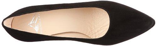 Diavolezza RAF 9500 - Zapatos de vestir de ante para mujer, color negro, talla 41