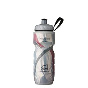 Polar Bottle Insulated Water Bottle (20-Ounce, Graphic Red)
