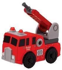 Sodor Hook and Ladder Fire Truck - Thomas & Friends Wooden Railway Tank Train Engine - Brand New - Fish Rusty Hook