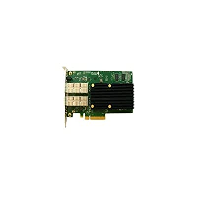Chelsio Dual Port 10GB PCI-E (No Transceiver) Network Card 110-1040-20 Channel Card Consumer electronics