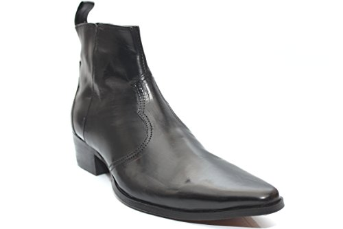 Gucinari G0805A - Bottines en cuir - style classique - homme - Noir