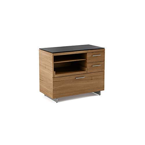 BDI 6017 WL Sequel Multifunction File & Storage Cabinet, Natural Walnut ()