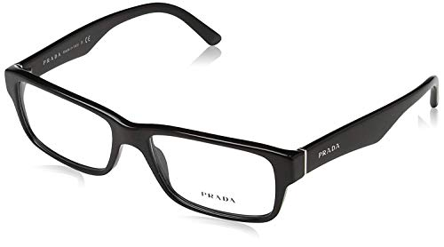 PRADA EYEGLASSES OPTICAL RX VPR 16M 1AB-101 BLACK VPR16M 53/16/140 (Glasses For Women Prada)