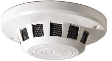 GE SECURITY GBC-SD-850-P3 - COVERT HIDDEN SURVEILLENCE CAMERA - NANNY CAMERA - SMOKE DETECTOR STYLE color 1/3'' CCD, 350 TVL , WHITE by GE Security
