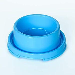 PetLike Dog Bowl, Plastic Pet Bowl for Cat Puppies Anti Ants Water Food Feeder Dish