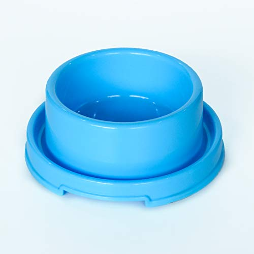 PetLike Dog Bowl, Plastic Pet Bowl for Cat Puppies Anti Ants Water Food Feeder Dish