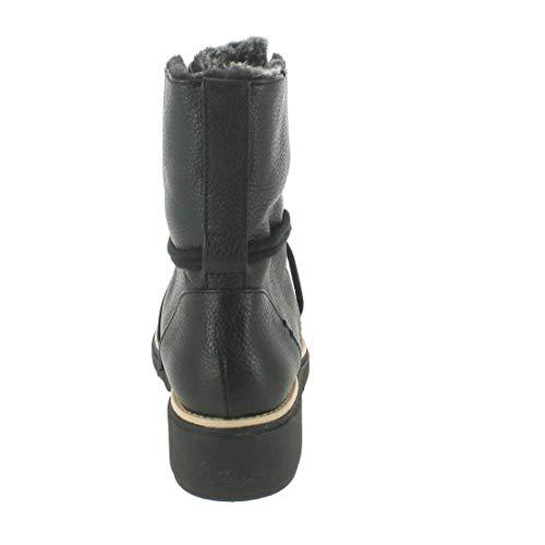 Sharon Noir Clarks Botines Leather Black Femme Pearl Oqx8nRwH