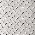 "Aluminum 3003-H22 Diamond Tread Plate .063"" x 12"" x 36"", Bright Finish, ASTM B209"