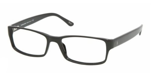 Polo Men's PH2065 Eyeglasses Shiny Black 58mm (Eyeglasses Frames Ralph Lauren)