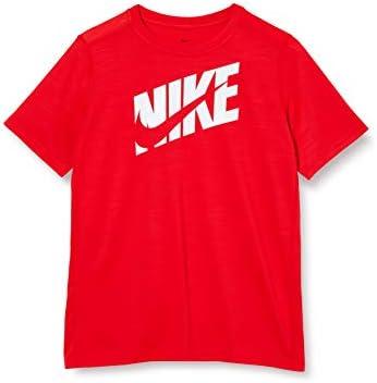 NIKE B Nk Hbr+ Perf Top SS Camiseta de Manga Corta, Niños, University Red/(White), S: Amazon.es: Deportes y aire libre