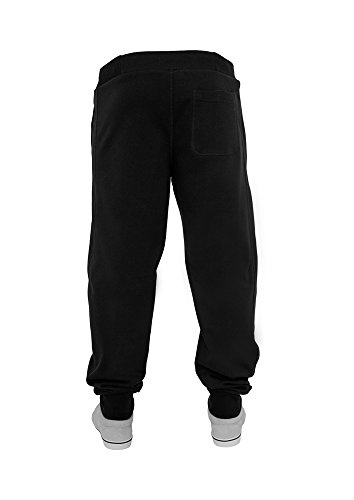 TB252 'urban classics'straight fit pantalon de sport pour homme (colours) various -  Noir - Small