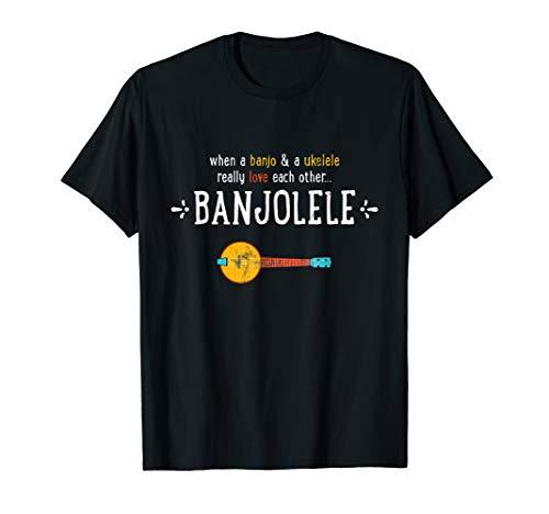 (Banjolele Banjo Ukulele Funny Shirt)