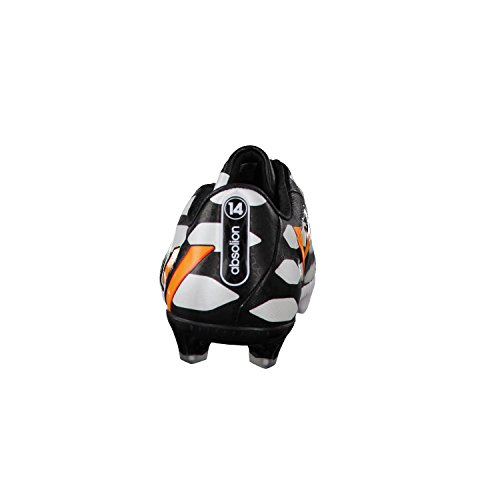 adidas Bota Predator Absolion Instinct FG WC Blanca-Solar gold-Negra black-neon orange-running white