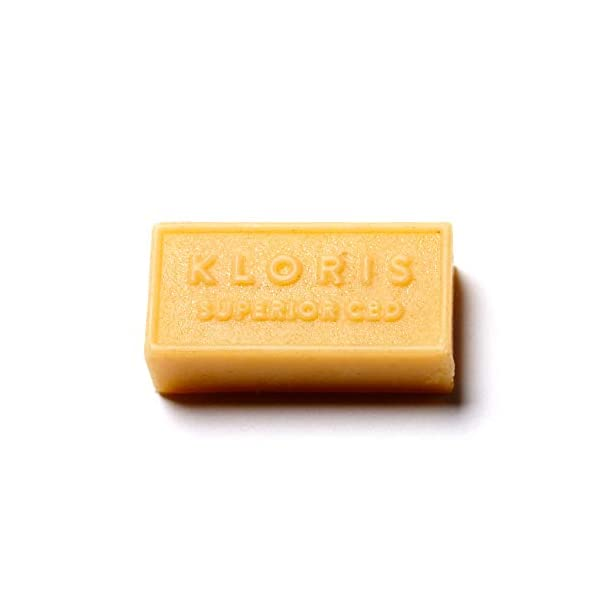 KLORIS 50mg CBD Bath Melts, Ylang Ylang scented, 3-pack, luxury bathing gift, de-stress and relaxation