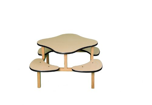 Wild Zoo Furniture Childs Play Table for 1-4 Kids, Ages 2...