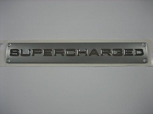 Genuine 2006-2012 Range Rover / Sport Supercharged Badge Emblem ()