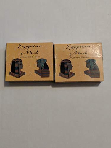 - Egyptian Musk Incense Cones by Kamini (Multi Packs) (2 Packs (20 Cones))