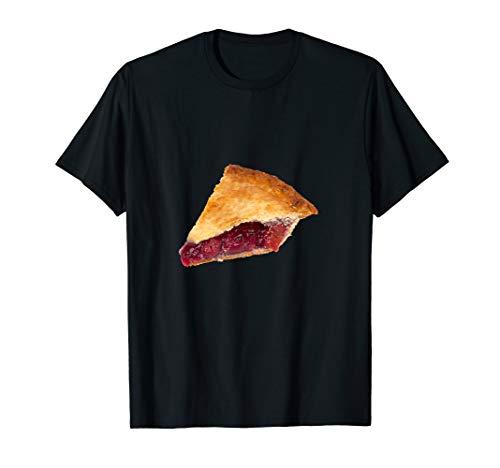 (Cherry Pie Graphic T-Shirt Fresh Baked Favorite Dessert)
