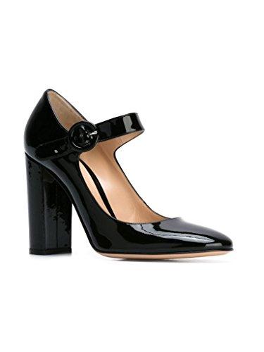 Black Talon Pompes Edefs Bride Bout Escarpins Mariee De Mary Boucle Cheville Mariage Rond Janes Femme A Chaussures xqxfTawR