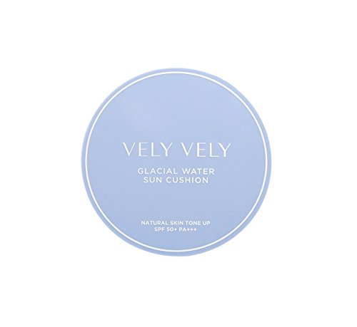(VELY VELY Glacial Water Sun Cushion 13g - SPF50+, PA++, Water cooling system)