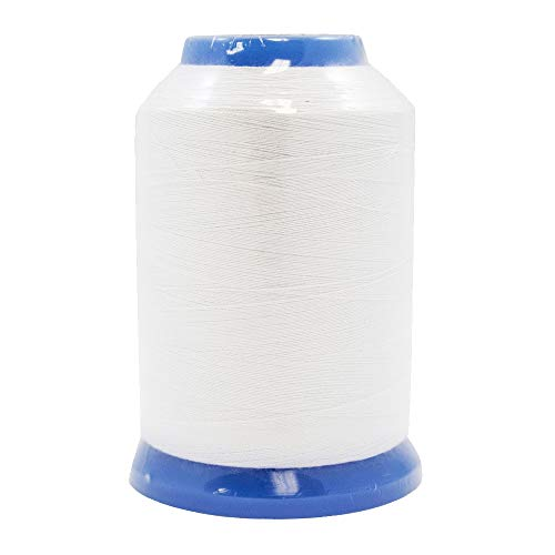 - Janome Embroidery Bobbin Thread White in 1600m Spools