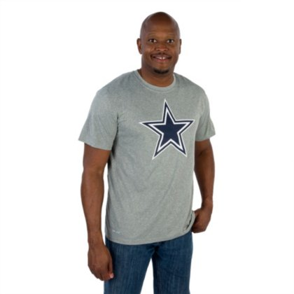 - Dallas Cowboys NFL Mens Nike Legend Essential Logo 3 Teenike Legend Essential Logo 3 Tee, Dark Heather Gray, X-Large