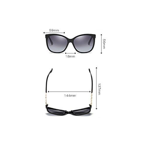 Clásica al Gafas LX Yellowish la Sol Color Black Gafas de de polarizadas conducen Que Moda Polarización Nueva Gafas Las Sol de de Bright Aire la de Libre de LSX de Brown Sol HqxawpHArS