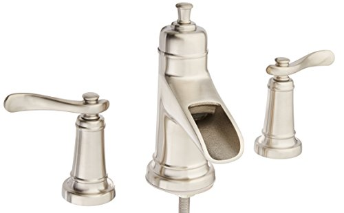 Delta Alux Spotshield Brushed Nickel 2 Handle Widespread: Delta Brushed Nickel Widespread Faucet, Brushed Nickel