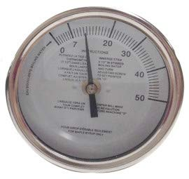 Baker Instruments T3112MSSP Maple Syrup Stem Thermometer, 3'' Dial, 12'' Stem