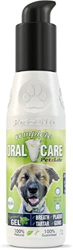 PetzLife Peppermint Oral Care Gel, 4-Ounce