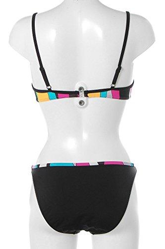 Strandladen - Conjunto - para mujer negro multicolor
