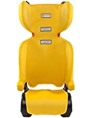 InfaSecure Versatile Folding Booster Car Seat for 4 to 8 Years, Yellow