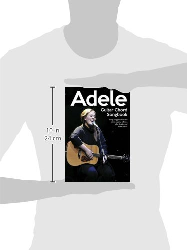 Amazon.com: Adele - Guitar Chord Songbook (0884088676230): Adele: Books