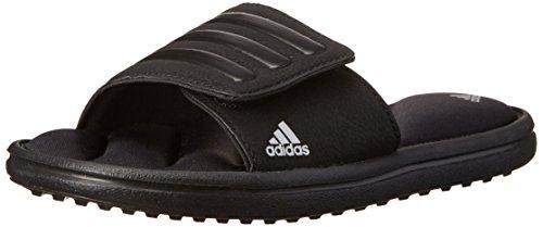 adidas Performance Zeitfrei K Sandal (Little Kid/Big Kid),Black/Black/Silver,3 M US Little Kid (Slide Sandals Boys compare prices)