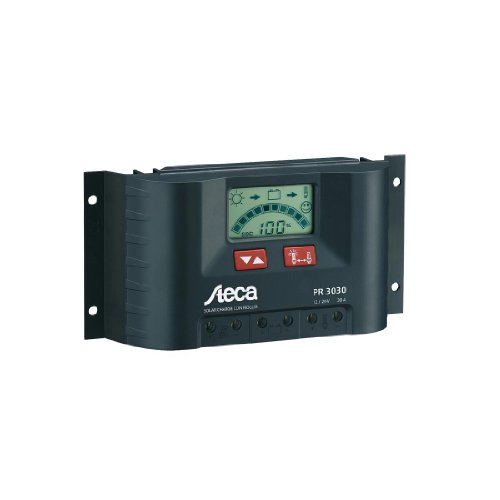 Steca Pr-2020 12 / 24 Volt 20 Amp Solar Charge Controller with Lcd Display by STECA