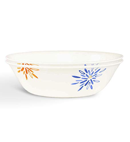 Corelle India Collection Carnival Glass Unbreakable Microwave Vegetable/Dessert Bowl 6 Pcs Set Combo Gift Item