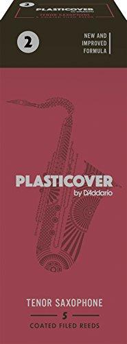 Rico Plasticover Tenor Sax Reeds, Strength 2.0, 5-pack