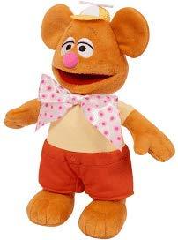 "Fozzie Bear Muppet Babies Plush Figure 8"""