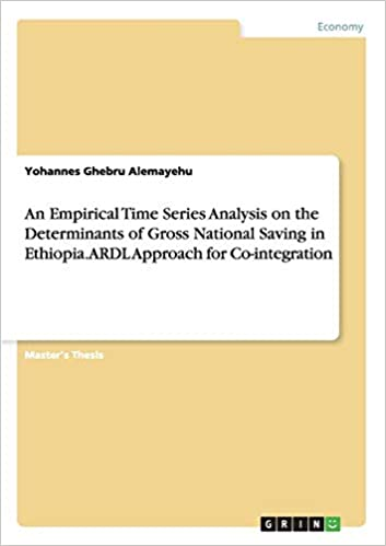 An Empirical Time Series Analysis on the Determinants of Gross