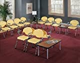 Waiting Room Table and Chairs Set - 15 Piece Europa Series