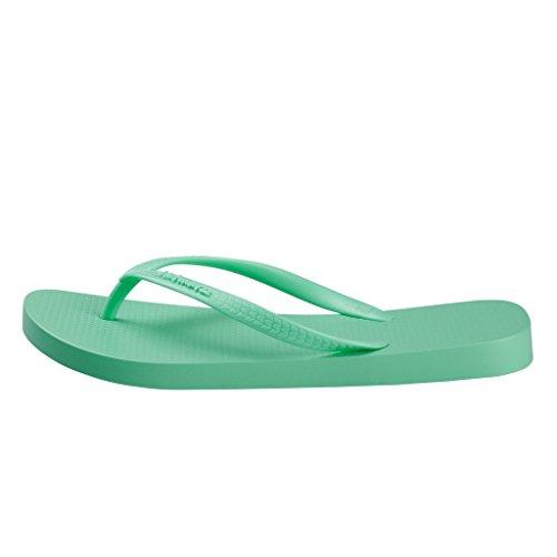 Hotmarzz Chanclas para Mujer Sandalias Playa Verano Piscina Ducha Boda Casa Flip Flops Verde