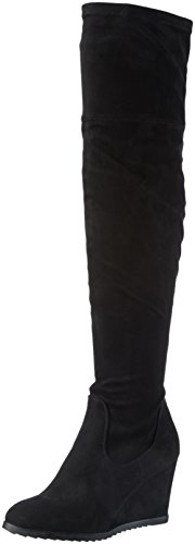 Miss KG Vivien, Women's Long Boots Black (Black)