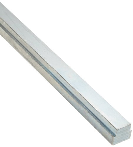 (Steel Step Key Stock For Gears, Zinc Plated, 3/8